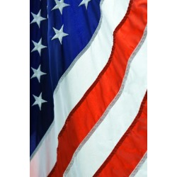 Poster: tempestz's American Flag, 24x16in.