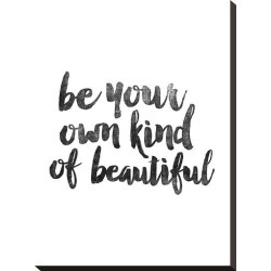 Stretched Canvas Print: Wilson's Be Your Own Kind of Beautiful, 22x16i found on Bargain Bro Philippines from Allposters.com for $134.99