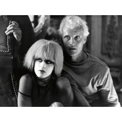 """Poster: DARYL HANNAH; RUTGER HAUER. """"Blade Runner"""" [1982], directed by"""