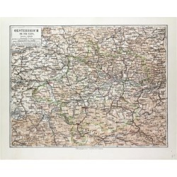 Giclee Painting: Map of Austria 1899, 24x18in. found on Bargain Bro India from Allposters.com for $27.99