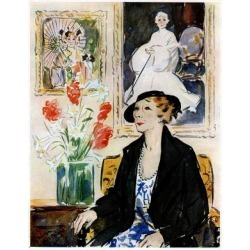 Giclee Painting: Fofty Years a Favourite, Miss Marie Tempest, 1935, 24 found on Bargain Bro Philippines from Allposters.com for $69.99