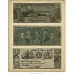 Giclee Painting: Vision Studio's Antique Currency V, 22x18in. found on Bargain Bro from Allposters.com for USD $17.47