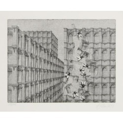 Limited Edition Art: Hans Georg's Perspectives Adventure (1D), 14x20in