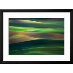 Framed Art: Abresch's Rolling Hills, 23x31in.