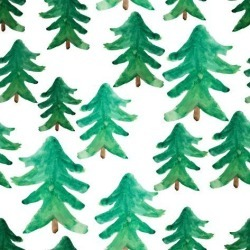 Poster: golant's Background of Christmas Tree. Christmas Tree Seamless