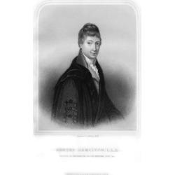 Giclee Painting: Holl II's Robert Hamilton, Scottish Economist and Mat