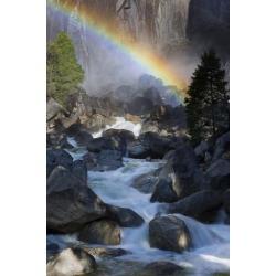 Poster: Mirau's Yosemite Creek, Rainbow, Yosemite National Park, Calif