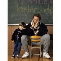 """Poster: ARNOLD SCHWARZENEGGER. """"KINDERGARTEN COP"""" [1990], directed by"""