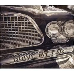 Giclee Painting: Mindy Sommers - Photography's Drive my Car, 24x18in.