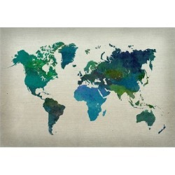 Poster: Poster: Abstract Maps Poster, 13x19in.