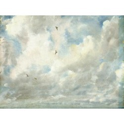 Giclee Painting: Constable's Art Print: Cloud Study, 1821 Art Print by