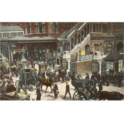 Giclee Painting: Broad Street Station, 24x16in.
