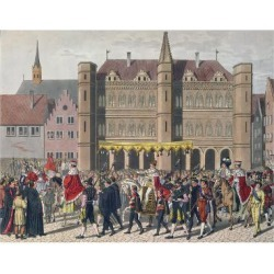 Giclee Painting: Cortege of Charles V (1500-58), 24x18in. found on Bargain Bro India from Allposters.com for $27.99