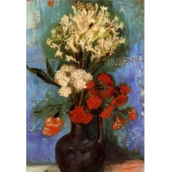 Poster: Vincent Van Gogh Vase with Carnations and Other Flowers Art Pr found on Bargain Bro from Allposters.com for USD $6.83