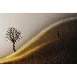 Art Print: Golden Hills, 44x56in.