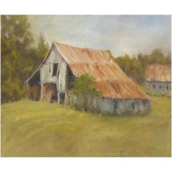Art Print: Wendling's Tin Roof, 24x18in.