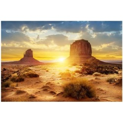 Art Print: The Sisters Monument Valley, 9x12in.