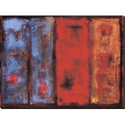 Stretched Canvas Print: Benjamin Peterson's Change in Temperature, 30x