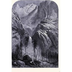 Giclee Painting: Yosemite Falls United States of America, 24x16in.