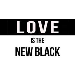 Art Print: Shumkina's Love Is The New Black, 24x18in.
