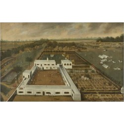 Art Print: van Schuylenburgh's Dutch Plantation in Bengal, 24x16in.