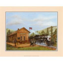 Art Print: Shannon's Train Station, 8x10in.