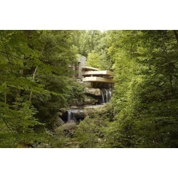 Photo Print: Falling Water, 12x8in.