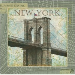 Giclee Painting: James' Explore New York, 16x16in. found on Bargain Bro Philippines from Allposters.com for $48.99