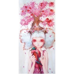 Art Print: D'Errico's Apple Tree Queen, 16x12in. found on Bargain Bro from Allposters.com for USD $10.63