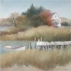 Giclee Painting: Swayhoover's Beechwood Landing, 40x40in.