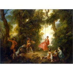 Giclee Painting: Lancret's Swing, 1730S, 24x18in. found on Bargain Bro Philippines from Allposters.com for $69.99