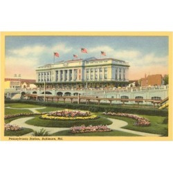 Art Print: Pennsylvania Station, Baltimore, Maryland, 24x18in.