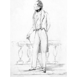 Giclee Painting: Byron (D'Orsay), 24x18in.