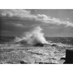 Poster: Crashing Waves, 24x18in.