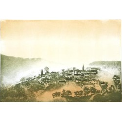 Limited Edition Art: Laventhol's Mountain Village, 22x30in.