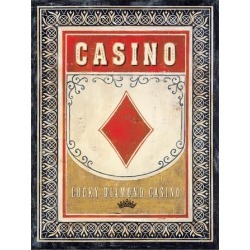 Art Print: Staehling's Casino Diamond, 16x12in.