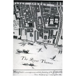Giclee Painting: Morden & Lea's Map of London Featuring Whitefriars, 1 found on Bargain Bro Philippines from Allposters.com for $58.99