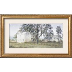 Framed Art Print: Hendershot's Primrose Farm, 20x34in.