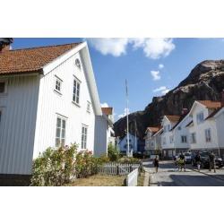 Poster: Levy's Houses in Fjallbacka, Bohuslan Region, West Coast, Swed