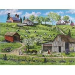 Giclee Painting: Fair's Buttermilk Farm, 24x18in.