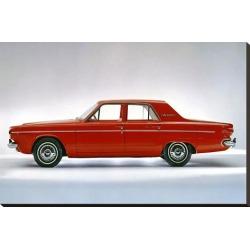 Stretched Canvas Print: 1964 Dodge Dart 270 4 Door, 24x37in.