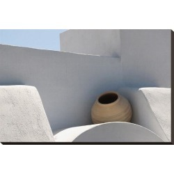Stretched Canvas Print: Greek roof decoration, 20x29in.