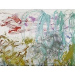 Giclee Painting: Monet's Art Print: Waterlilies, 1917-19 Art Print by