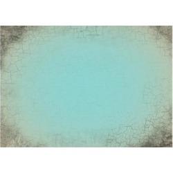 Art Print: krasstin's Turquoise Cracked Background, 24x18in.