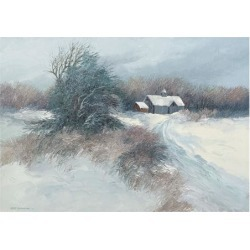 Art Print: Swayhoover's Dovetail Farm, 30x42in.