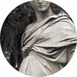 Giclee Painting: Design's Savannah Angel, 18x18in.