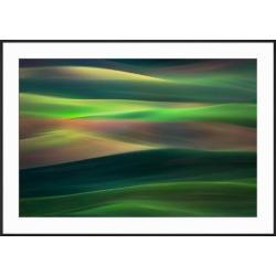 Framed Art: Abresch's Rolling Hills, 29x41in.