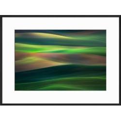 Framed Art: Abresch's Rolling Hills, 17x23in.