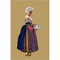 Art Print: Moffat's Woman from St. Germain, Lembron Serves a Pitcher o found on Bargain Bro India from Allposters.com for $38.99