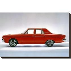 Stretched Canvas Print: 1964 Dodge Dart 270 4 Door, 10x15in.